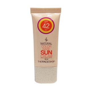 The Face Shop Natural Color Base Sun Cream SPF42 PA++