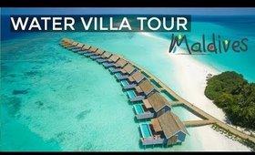 OVER WATER VILLA TOUR With Private Pool, Maldives Kuramathi Island