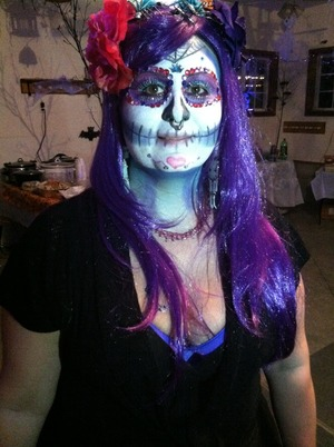 Friends Halloween makeup c: