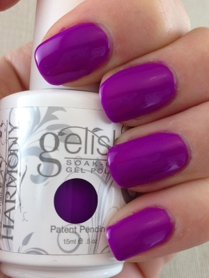 Gel polish. For more swatches please visit my blog