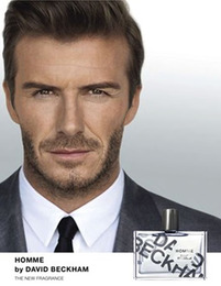 "David Beckham to Launch ""Homme"""