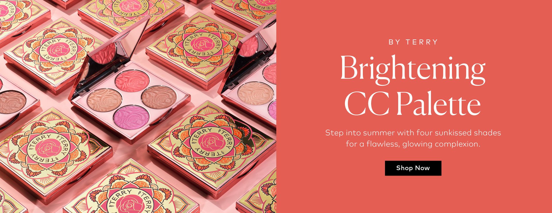 Shop BY TERRY's Brightening CC Palette Peach Bomb on Beautylish.com