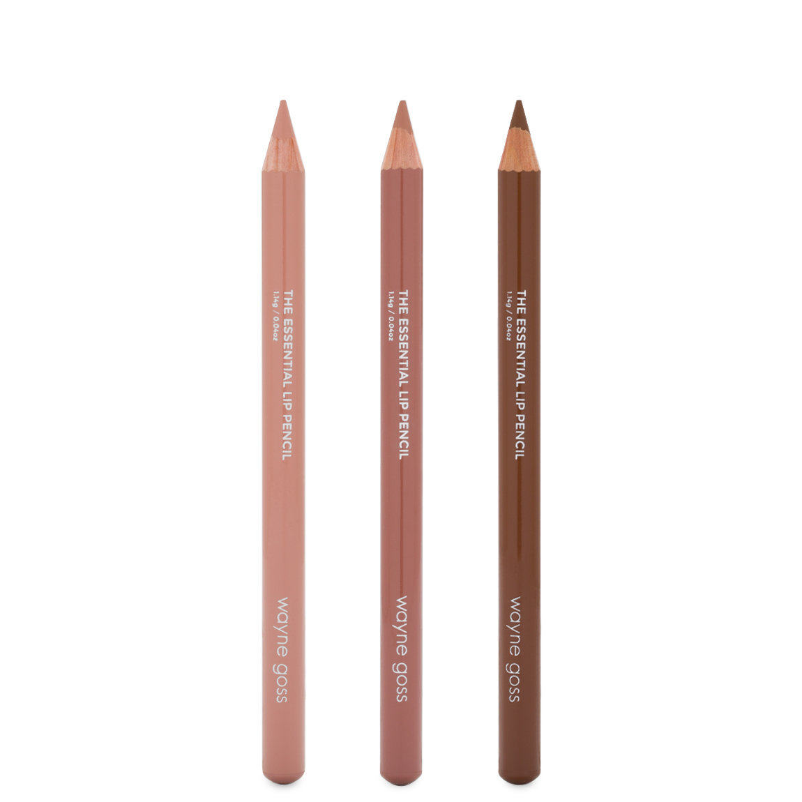Wayne Goss The Nude Essential Lip Pencil Collection alternative view 1 - product swatch.