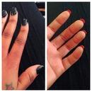 Lollipop & Licorice. Loubie Nails!