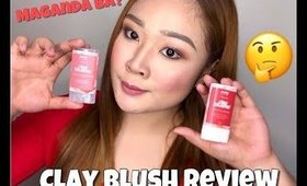 MAKEUP ARTIST TRIES CLAY BLUSH (REVIEW & FIRST IMPRESSION) | CLAIRE LINGAN (PHILIPPINES)