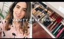 DOWNSIZING MY MAKEUP COLLECTION & DRESSING TABLE TOUR | Lily Pebbles