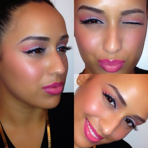 All pinked out 💗   Like my Facebook page for more makeup posts + tutorials +DIY beauty tips ;)   http://Facebook.com/Joleposh  http://Instagram.com/Joleposh  http://YouTube.com/Joleposh