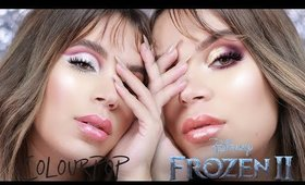 COLOURPOP FROZEN 2 COLLECTION | SWATCHES AND 2 LOOKS