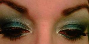 Eyes for 12-24-2011 •Battlefield 3 inspired(blue-silver tones) ~Sugarpill in Tako, Afterparty, Tiara and Magpie