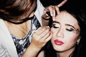 Makeup by Claire Lingan. :)