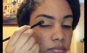 Simple wearable blue eye makeup :] ft shany 120 eyeshadow palette