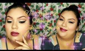 New Years Eve Makeup Tutorial   Simple Natural Look