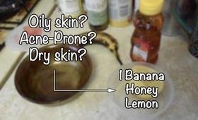 DIY Banana Mask