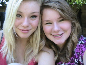 My sister (left) and me (on right) <3