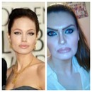 Angelina Jolie inspired. A gorgeous, brave and inspirational woman.