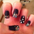 new year nails.