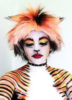 Face and body paint used