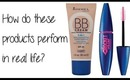 Makeup In Real Life:  BB Cream and Waterproof Mascara
