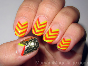 for info & how-to, check out my latest post: http://www.maryammaquillage.com/2012/05/traffic-stopping-chevrons.html