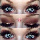 Glamorous Matte & Metallic Smokey Eye
