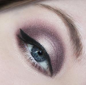 My newest look using Makeup Geek eyeshadows!