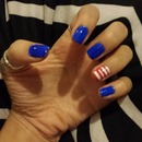 Red. White. Blue (: