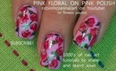 pink friday! pink polish pink roses ala robin moses rose nail art flower tutorial design 671