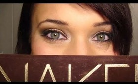 NAKED Palette: 2 Minute Smokey Eye (Easy & Sexy!)