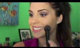 Maybelline Great Lash Purple Mascara Tutorial!