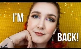 I'M BACK | experimenting with makeup