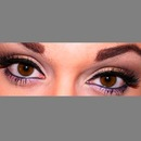 Gold shimmer eyes
