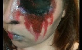 Beauty & The Gore (Halloween Tutorial) No latex used