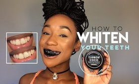 How I Whiten My Teeth | Carbon Coco Review