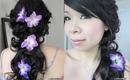 "Bridal Look Tutorial: Cascading Curls w/ ""NAKED"" Pink Smokey Eye"