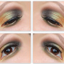 Makeup Look: MAC Old Gold Pigment