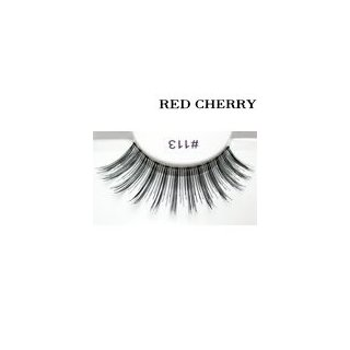 Red Cherry False Eyelashes #113