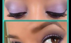 Easy Purple Smoky Eye Tutorial