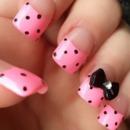 polka dots and a bow ??