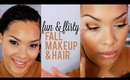 Fall 2013 Makeup & Hair Tutorial!