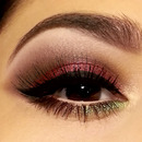 Christmas Party Eye Look