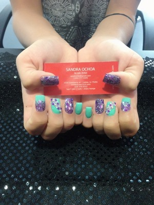 Nails by SandraO. (214)370-5222