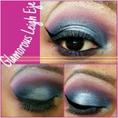 Blueberry Cotton Candy Eyeshadow Look