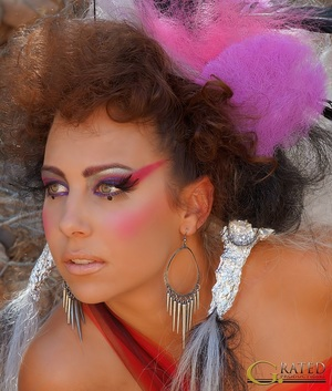 G. Rated photography, model Brandy Morgan, hair by Sabel Diskin and makeup by yours truly :-)