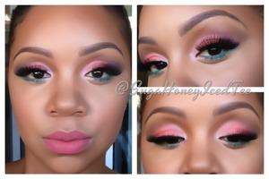 Eyeshadows from Morphe pallete