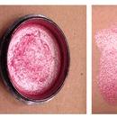 Homemade Makeup Swatches | P!nk Glitter
