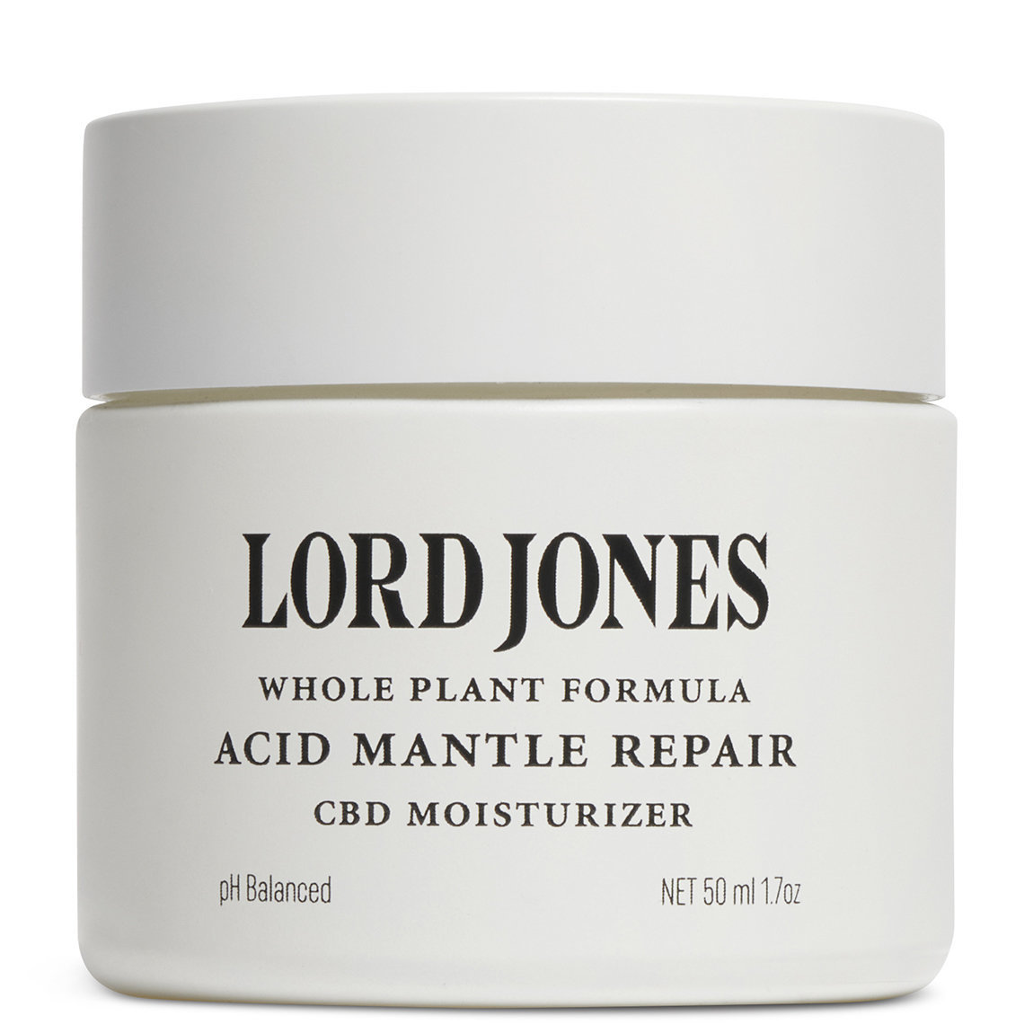 Lord Jones Acid Mantle Repair Facial Moisturizer product swatch.