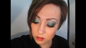Glamour Doll Eyes St. Patrick's Day Look