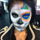 Day of the dead / skull.