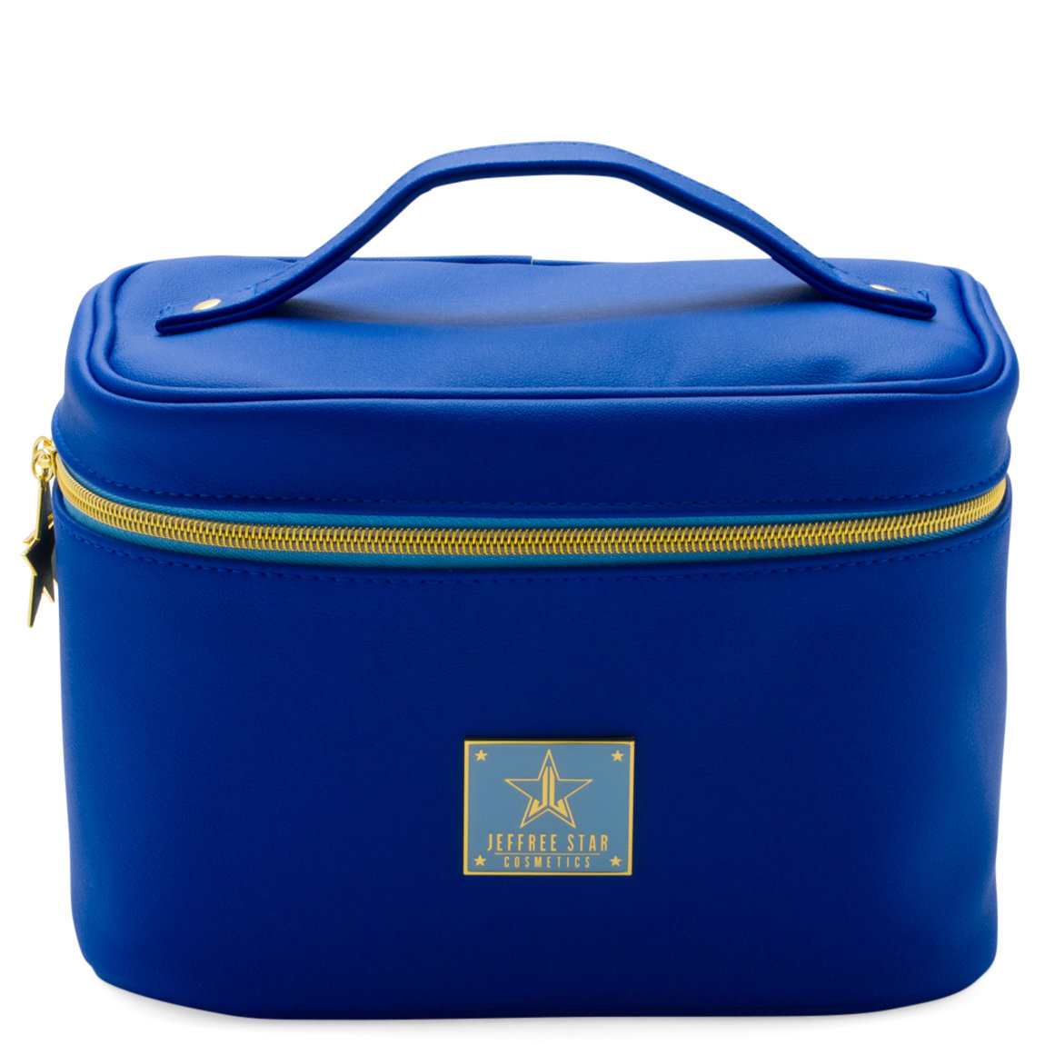 Jeffree Star Cosmetics Travel Makeup Bag Dark Blue product swatch.