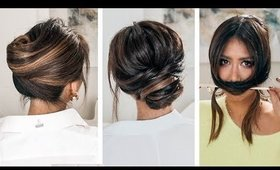 LAZY, 👉but KEEP IT ELEGANT UPDOS | 2019 SPRING HAIRSTYLES FOR LONG MEDIUM HAIR